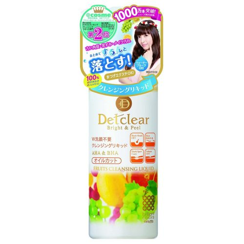 Detclear Fruits Cleansing Liquid ( for Make-up/Blackheads)